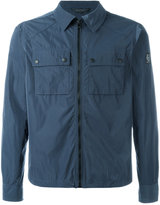 Belstaff zipped shirt jacket - men - Polyester - M