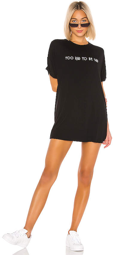 superdown Kate Jersey Tee Dress