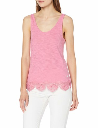 Superdry Women's Morocco Lace Hem Vest Kniited Tank Top