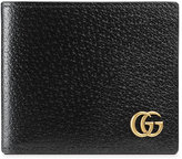Gucci GG Marmont leather bi-fold wallet - men - Leather/Brass - One Size