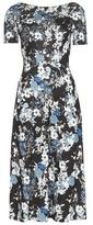 Erdem Printed Jersey Dress