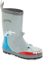 Kidorable Boy's 'Shark' Waterproof Rain Boot