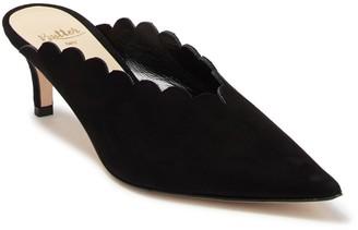 Butter Shoes Niki Suede Kitten Heel Mule