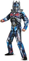 Disguise Transformers Optimus Prime Muscle Classic Costume (Little Boys & Big Boys)