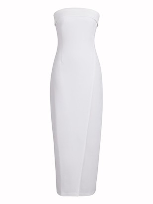 New York & Co. Strapless Form-Fitting Maxi Dress