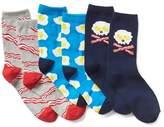 Gap Print crew socks (3-pack)