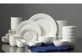 Gibson White Elements Lexington 42-Pc. Dinnerware Set, Service for 6