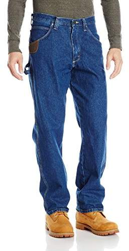 Wrangler Riggs Workwear By Men's Ripstop Carpenter Jean