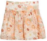 Chloé Pleated Floral Skirt, Size 4-5