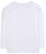 See by Chloe Crochet-knit cotton sweater