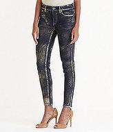Lauren Ralph Lauren Metallic Skinny Jean