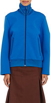 Balenciaga Women's Convertible-Sleeve Scuba-Knit Track Jacket