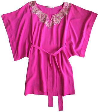 Twelfth St. By Cynthia Vincent Pink Silk Dress for Women
