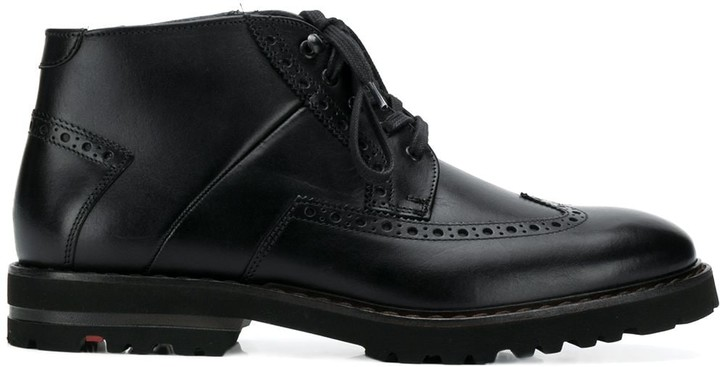huge selection of 76334 2bc14 perforated ankle boots