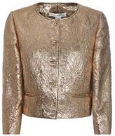 Oscar de la Renta Jewel Brocade Jacket