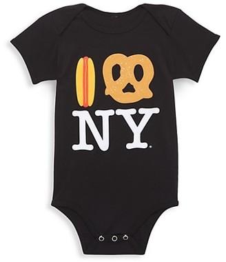 Piccoliny Baby's Hot Dog Pretzel NY Bodysuit