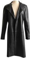 Loewe Black Leather Coats