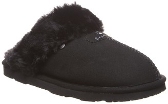 BearPaw Loki Vegan Faux Fur Trimmed Slipper