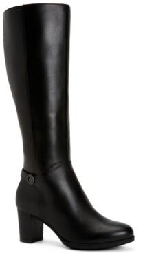 Giani Bernini Adonnys Memory-Foam Dress Boots, Created for Macy's Women's Shoes