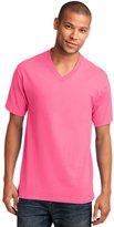 Port & Company Men's 54 oz 100% Cotton V Neck T Shirt L
