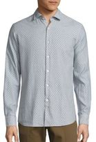 J. Lindeberg Daniel Slim-Fit Cotton Shirt