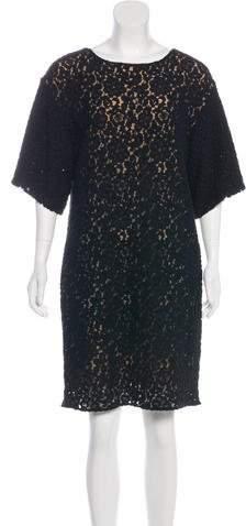 Chloé Lace Knee-Length Dress