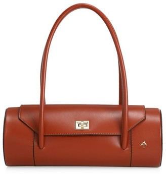 Atelier Manu London Leather Barrel Bag