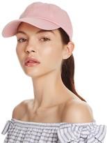 Aqua Solid Cotton Baseball Cap - 100% Exclusive