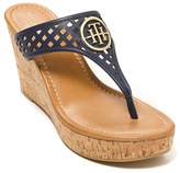 Tommy Hilfiger Final Sale-Signature Wedge Sandal