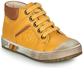 GBB OLANGO boys's Shoes (High-top Trainers) in Yellow