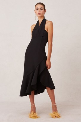 Keepsake DELIGHT MIDI DRESS black