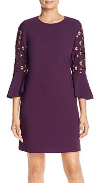 Elie Tahari Esmarella Cutout-Sleeve Dress