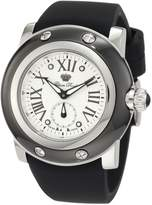 Glam Rock Men's Miami Textured Dial Black Silicone Watch GLAMROCK-GRD10029