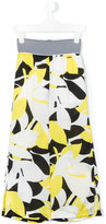 Loredana - floral print trousers - kids - Polyester - 10 yrs