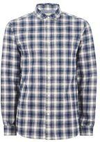 Selected Navy Check 'Gunnar' Shirt