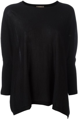 N.Peal Flared Round-Neck Sweatshirt