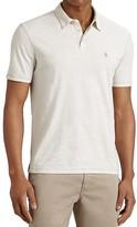 John Varvatos Heathered Peace Slim Fit Polo Shirt
