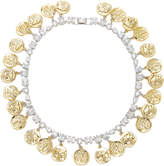Fallon Gold-Tone Crystal Monarch Mykonos Collar Necklace