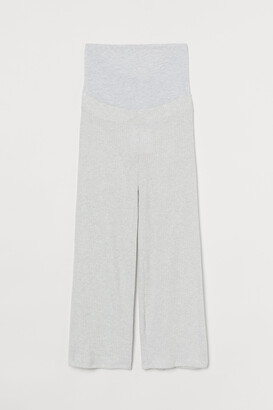 H&M MAMA Ribbed trousers