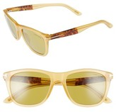 Tom Ford Women's Andrew 54Mm Sunglasses - Honey/ Yellow/ Green