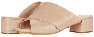 Clarks Sheer Mule (Gold Metallic Leather) Women's Shoes