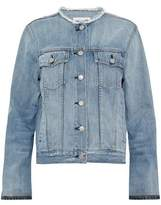Rag & Bone Frayed Denim Jacket