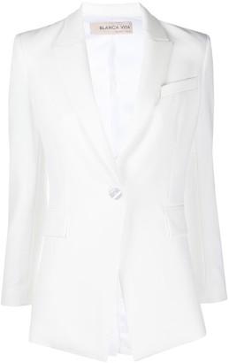 Blanca Vita Gisella one button blazer