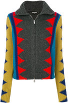DSQUARED2 knitted zip cardigan