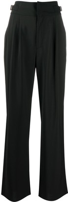 Diesel High-Waisted Wide Leg Trousers