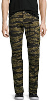 G Star G-Star Tiger Camouflage Skinny Pants, Green