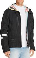 Soulland Helgi Pinstripe Tech Jacket