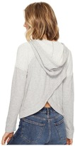 Splendid Confetti Active Crossback Zip Hoodie Women's Sweatshirt