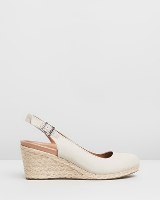 Vionic Women's Brown Heels - Coralina Wedges - Size One Size, 5 at The Iconic