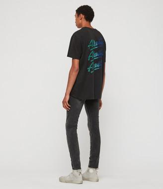 AllSaints Cigarette Skinny Jeans, Dark Grey
